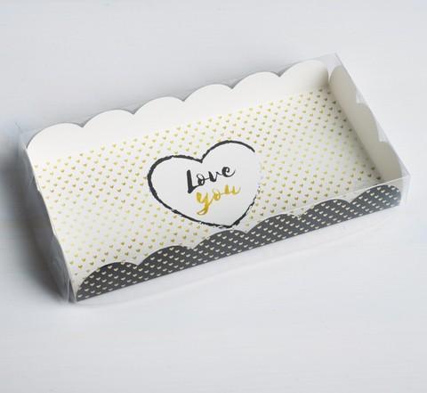 Коробочка Love you, 21 × 10,5 × 3 см