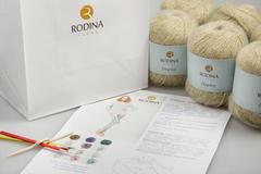 CLASSIC RAGLAN JUMPER Fashionbox by Rodina Yarns