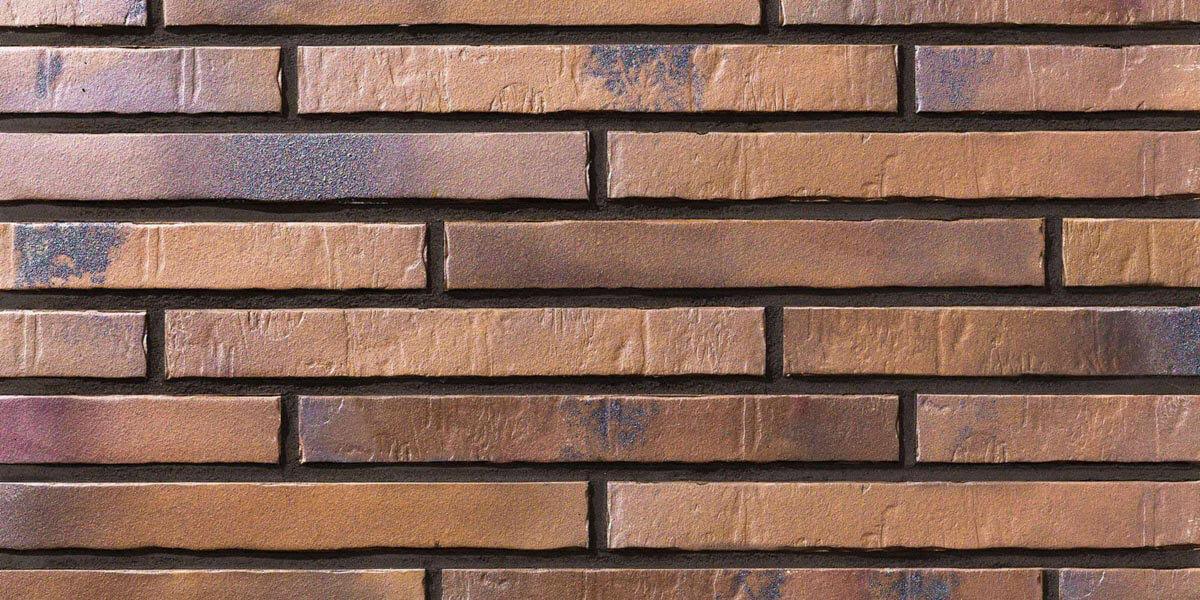 Stroeher - Glanzstueck №5, узкая, 440x52x14 - Клинкерная плитка для фасада и внутренней отделки