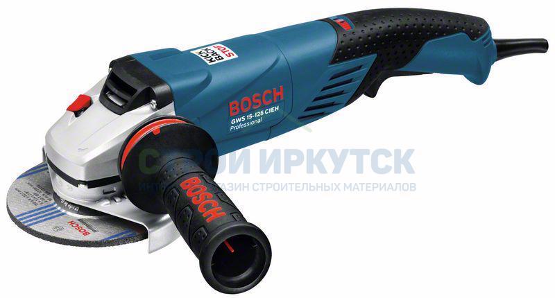 Шлифовальные машины Угловая шлифмашина Bosch GWS 15-125 CIEH (0601830322) d1361be45b1bbcec2216caa9009e5ebb