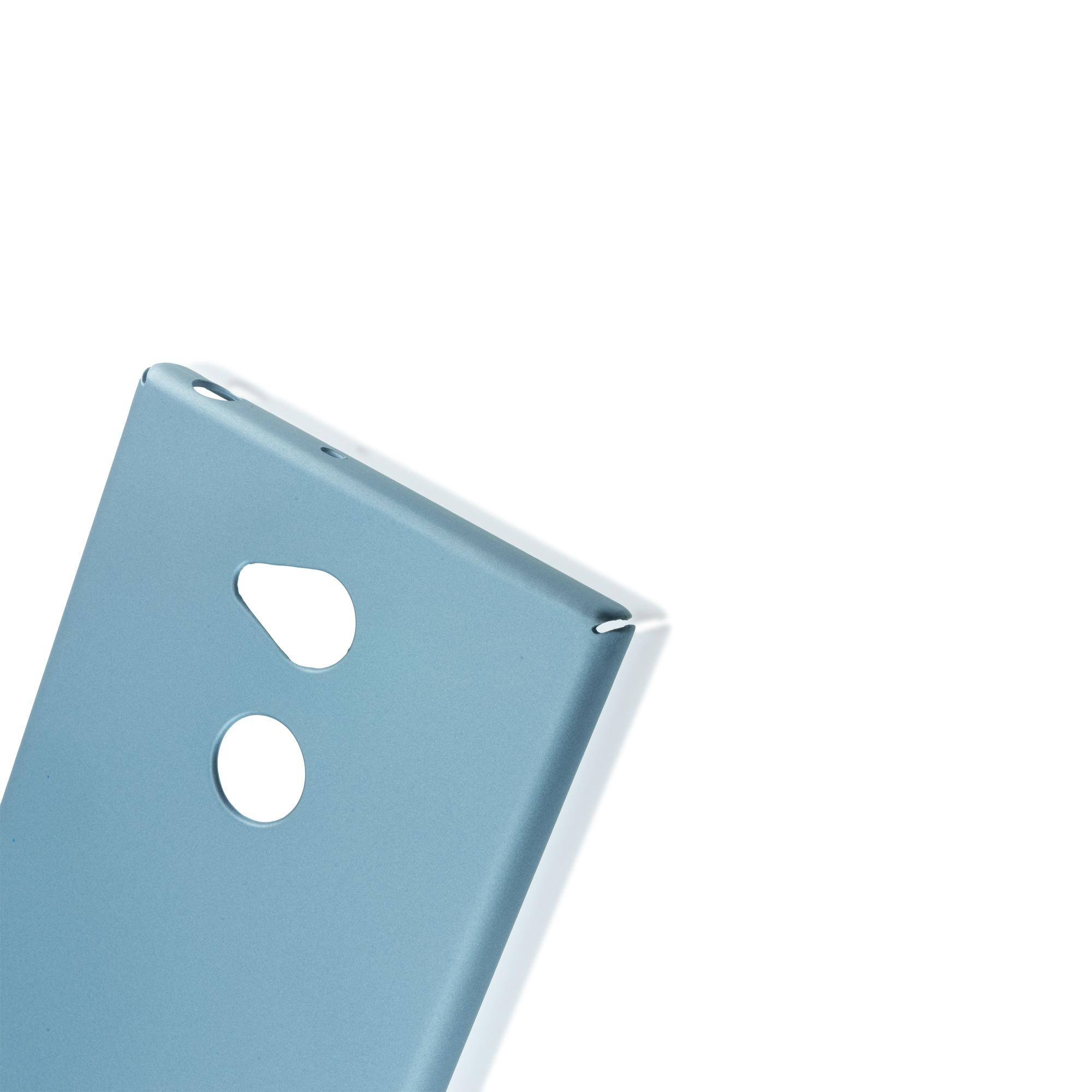 Пластиковый бампер для Xperia XA2 Ultra синего цвета