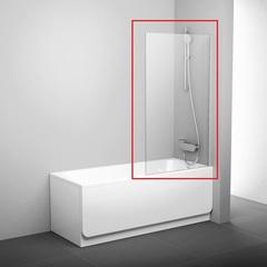 Шторка на борт ванны распашная 80х140 см Ravak PVS1 80 79840100Z1 фото