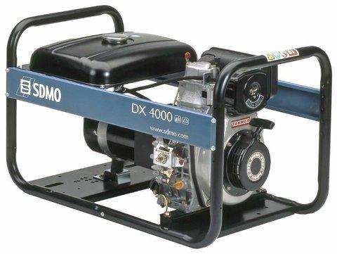 Кожух для дизельного генератора SDMO DX4000 (3400 Вт)