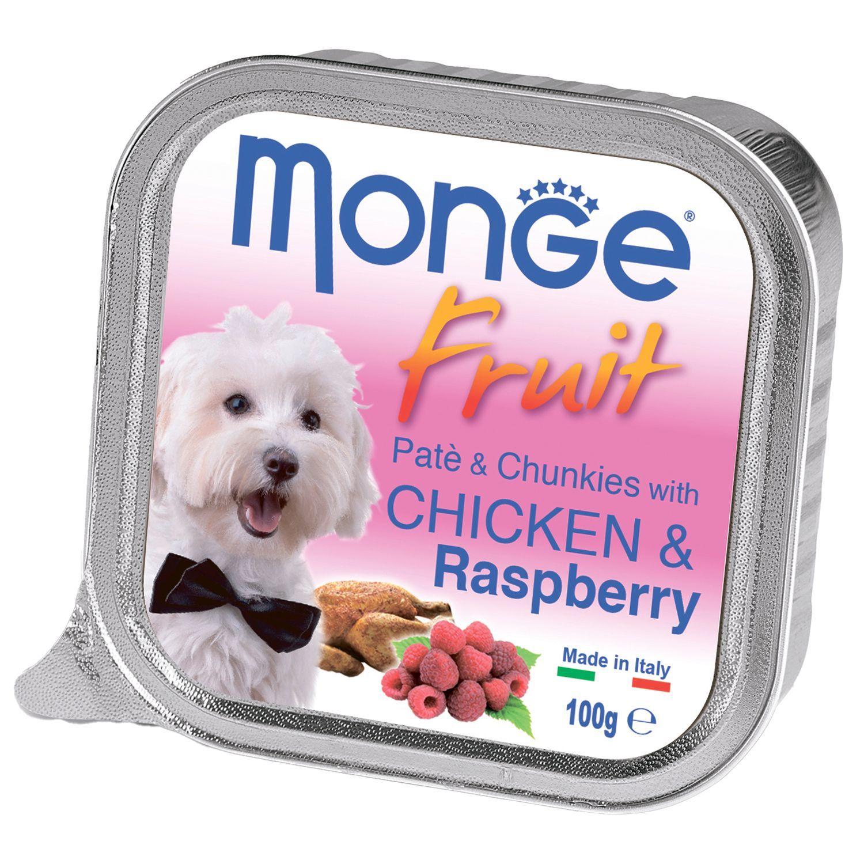 Monge Паштет для собак Monge Dog Fruit курица с малиной 70013215_1.jpeg