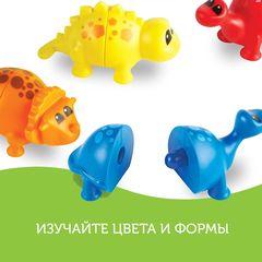 Развивающая игра Собери динозавриков (18 элементов) Learning Resources, арт. LER6708