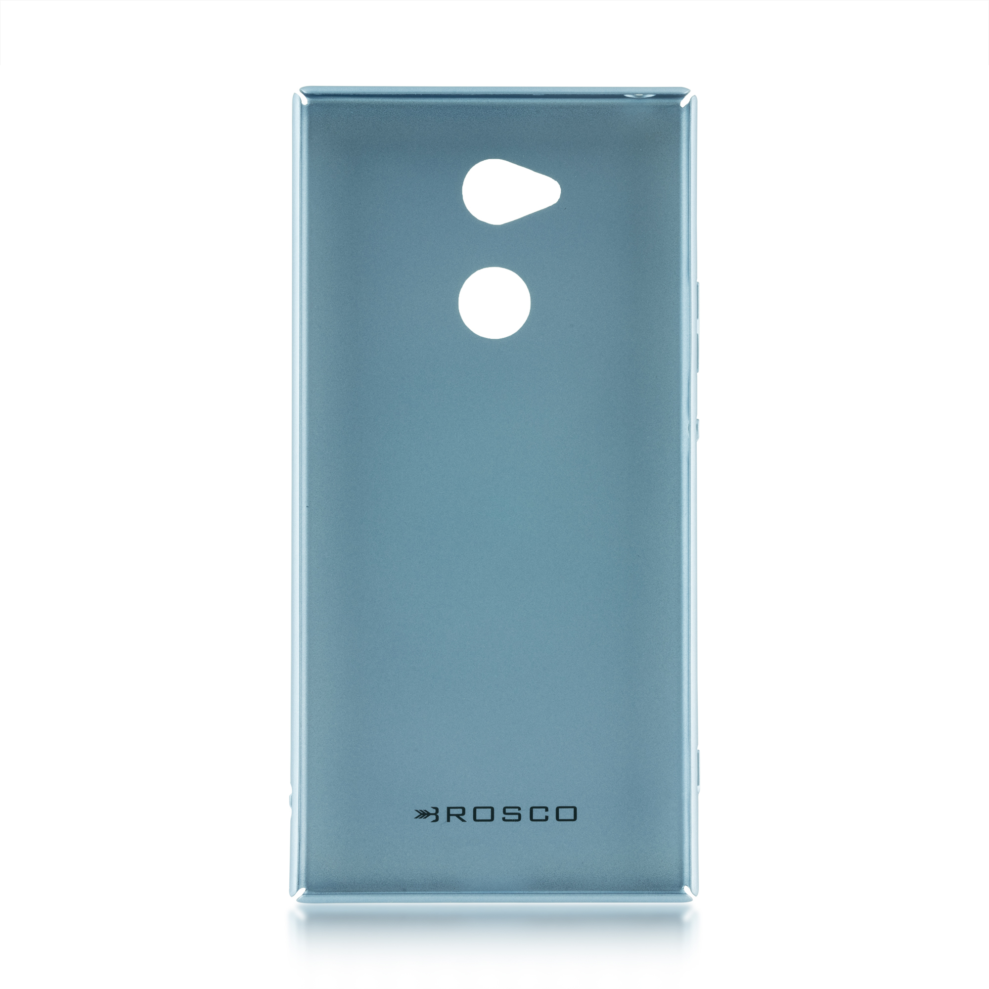 Пластиковый бампер синий для Xperia XA2 Ultra