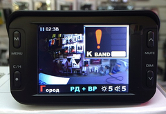 Комбо-устройство (видеорегистратор с радар-детектором и GPS) Inspector HOOK