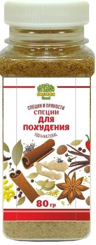 Специи для похудения Organic Food, 80г