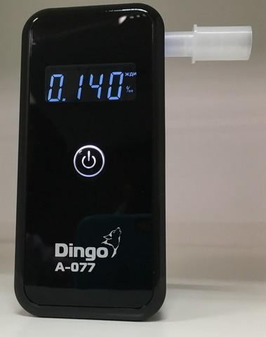 Алкотестер Динго А-077