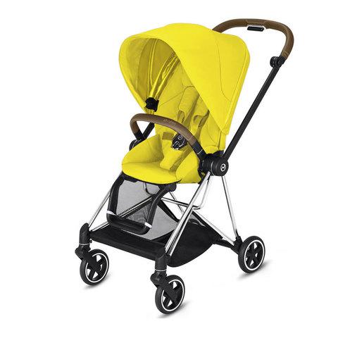 Прогулочная коляска  Cybex Mios Mustard Yellow chrome