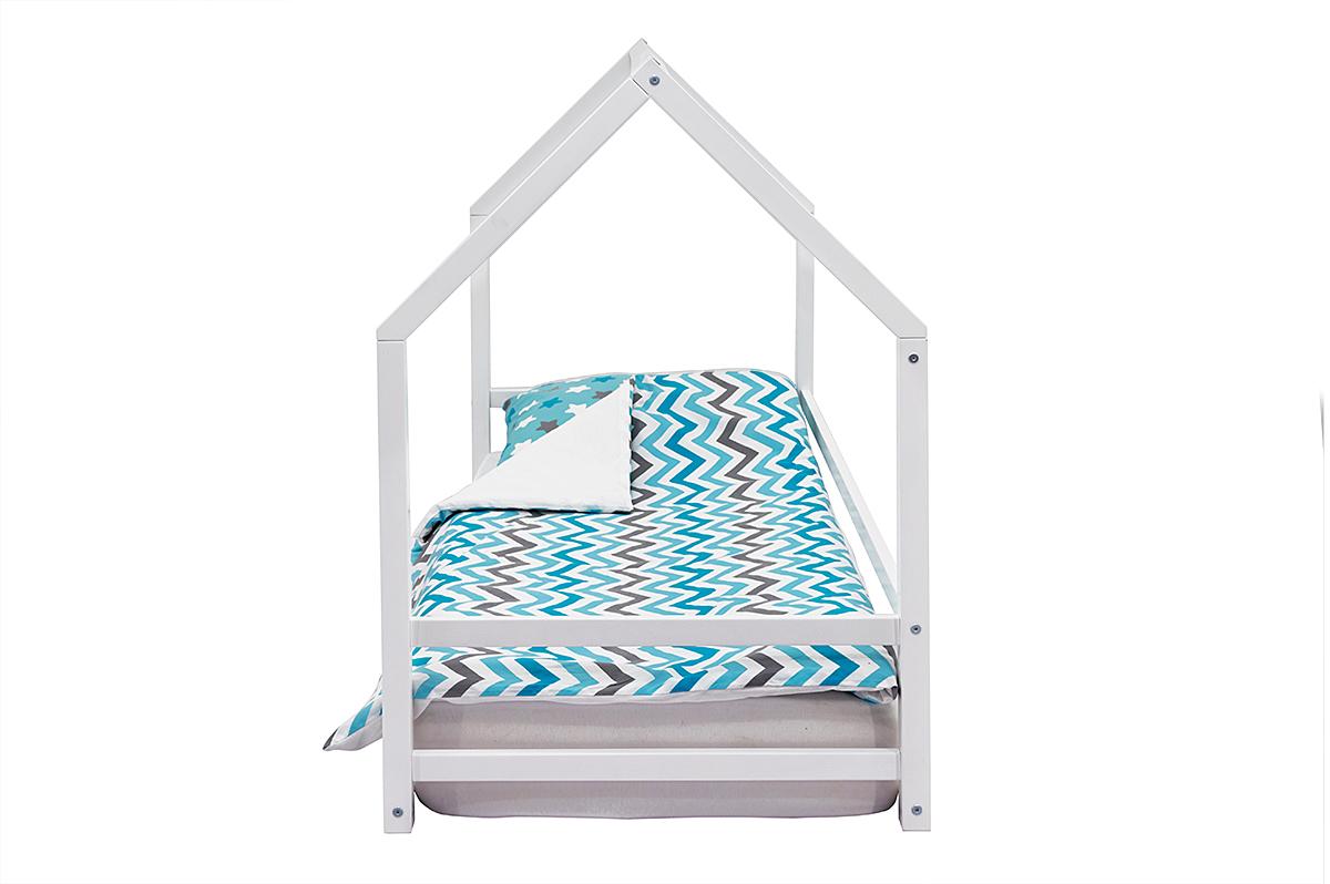 Кровать-домик Монтессори «Svogen» белый