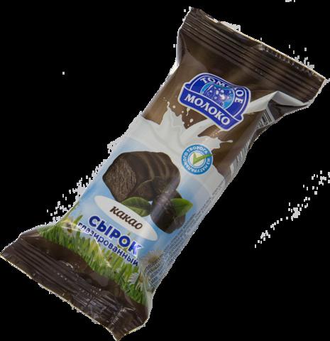 """Сырок """"Томское молоко""""  творожный с какао 40г"""