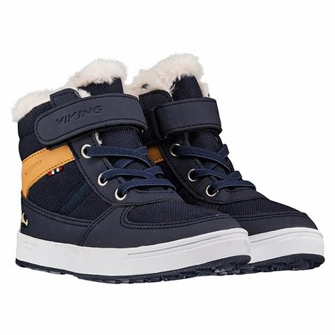 Ботинки Викинг Lucas WP Navy/Honey