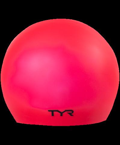 Шапочка для плавания Latex Swim Cap, латекс, LCL/610, красный