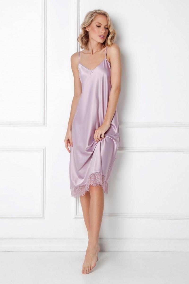 Сорочка женская из атласной ткани ARUELLE CELINE