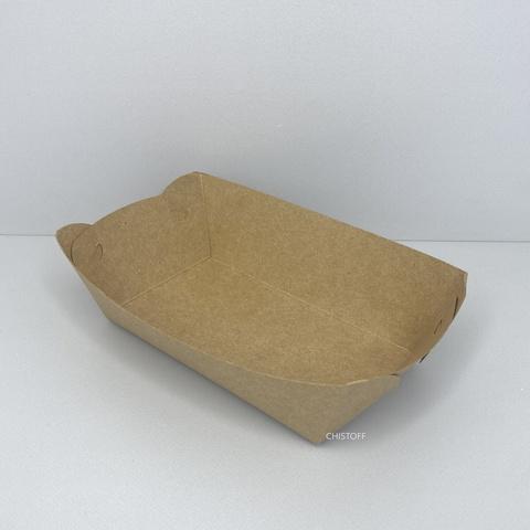 Тарелка бумажная картон ламинированная