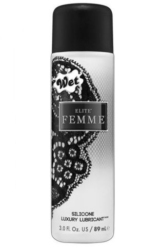 Нежный силиконовый лубрикант для женщин Wet Elite Femme - 89 мл.
