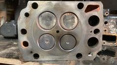 Головка блока цилиндров D2876, для 4х клап. (MAN 51031006499)   Головка блока цилиндров D2876 MAN TGA/ТГА   OEM MAN - 51031006499