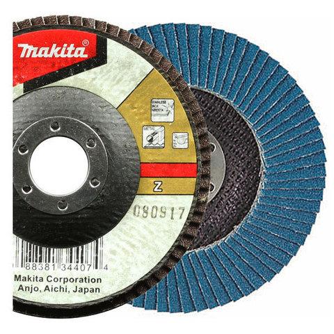 Лепестковый шлифовальный диск Makita Z40 180 мм
