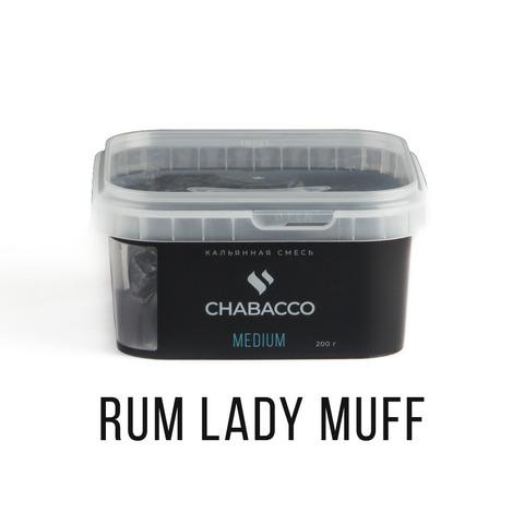 Кальянная смесь Chabacco - Rum lady muff (Ром-баба) 200 г