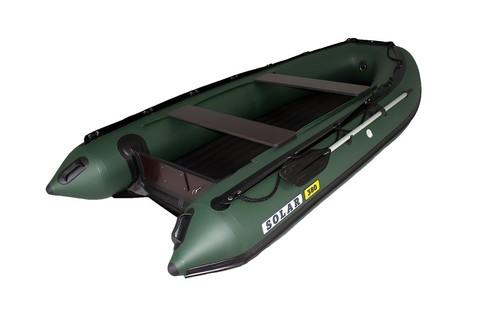 Надувная ПВХ-лодка Солар Максима - 380 (зеленый)