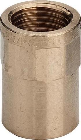Viega муфта бронзовая 22х1