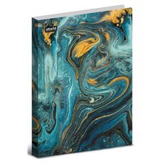 Папка с зажимом Attache Selection, Fluid,синяя