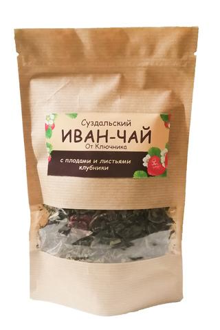 Иван-чай суздальский «с плодами и листьями клубники»