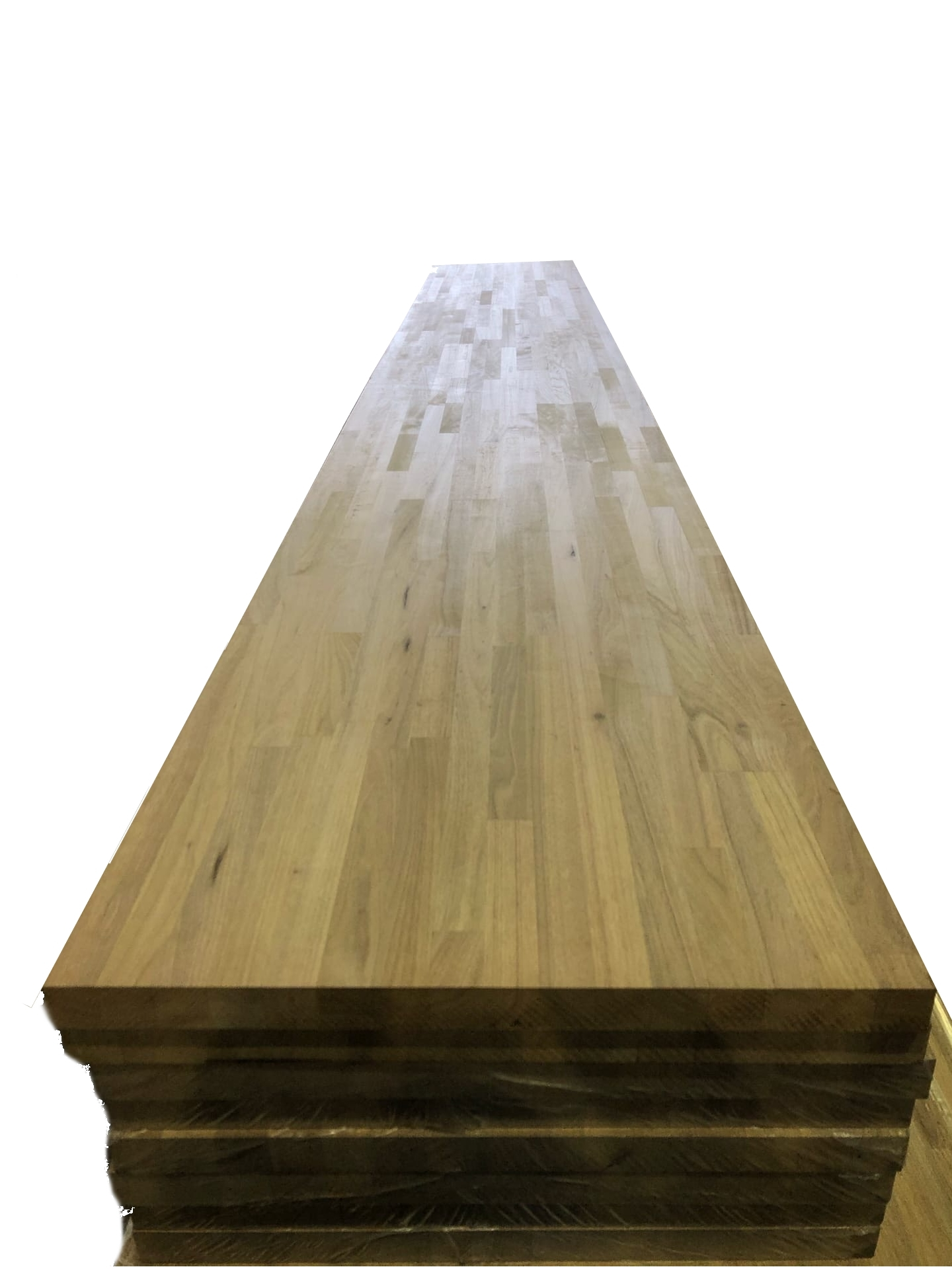 Мебельный щит из ореха Паркетной склейки