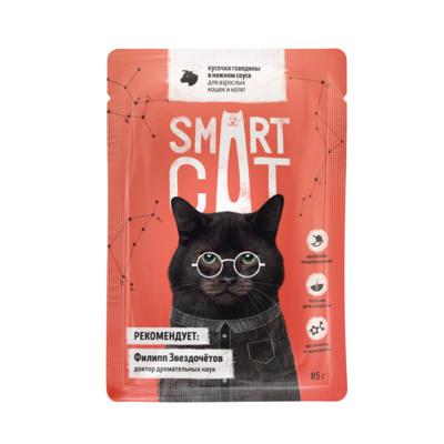 Купить Smart Cat Пауч Beef