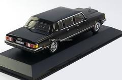 ZIL-41047 black 1985 IST132 IST Models 1:43