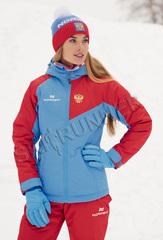 Утеплённая прогулочная лыжная куртка Nordski National 2.0 женская