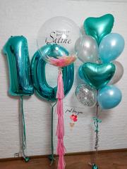 Воздушные шары для девочки
