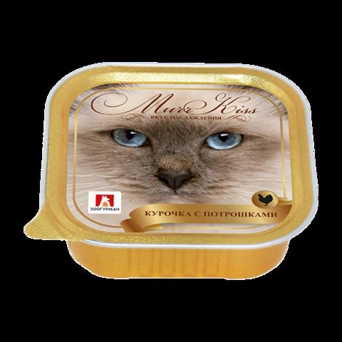 Зоогурман Murr Kiss Консервы для кошек с курочкой и потрошками (Ламистер)