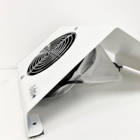 Пылесос настольный металлический 60 Вт - белый
