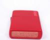 Зажигалка Zippo Red Matte Logo с покрытием Red Matte, латунь/сталь, красная, логотип