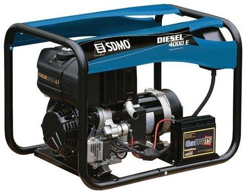 Кожух для дизельного генератора SDMO Diesel 4000 E (3400 Вт)