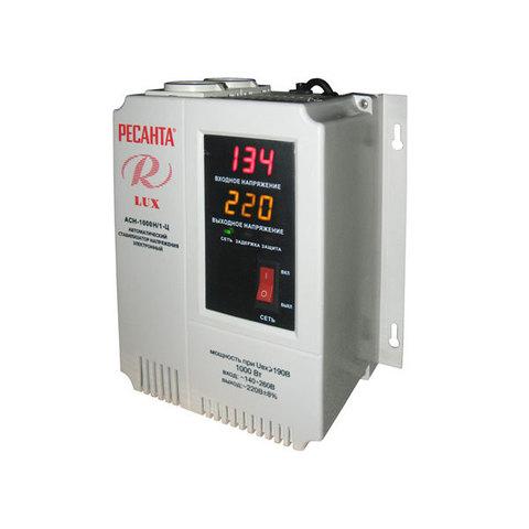 Стабилизатор напряжения Ресанта АСН LUX 1000 Н/1-Ц