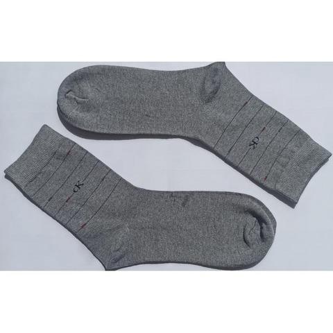 Мужские носки темно-серые Calvin Klein 2