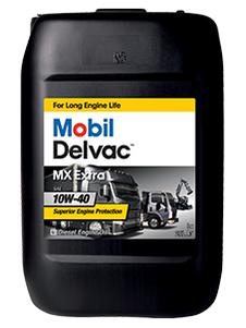 144718 152673 MOBIL DELVAC MX Extra 10W-40 синтетическое масло для коммерческого транспорта 20 Литров купить на сайте официального дилера Ht-oil.ru
