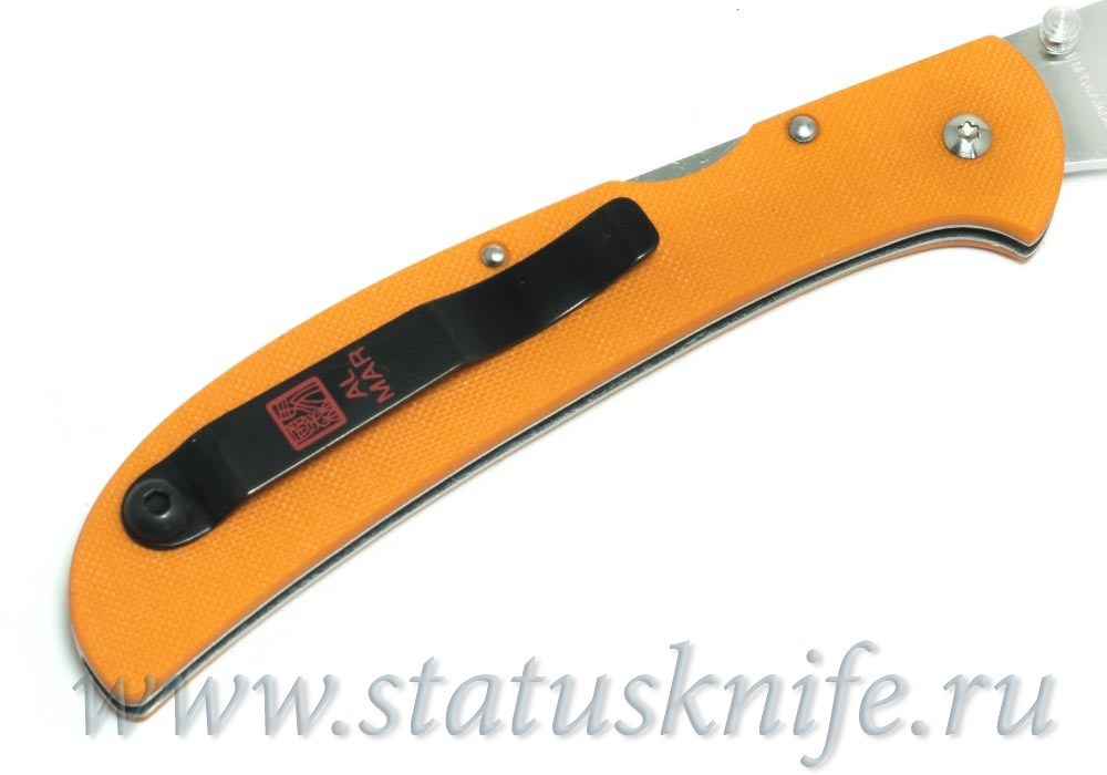 Нож Al Mar Eagle Heavy Duty ZDP-189 orange - фотография