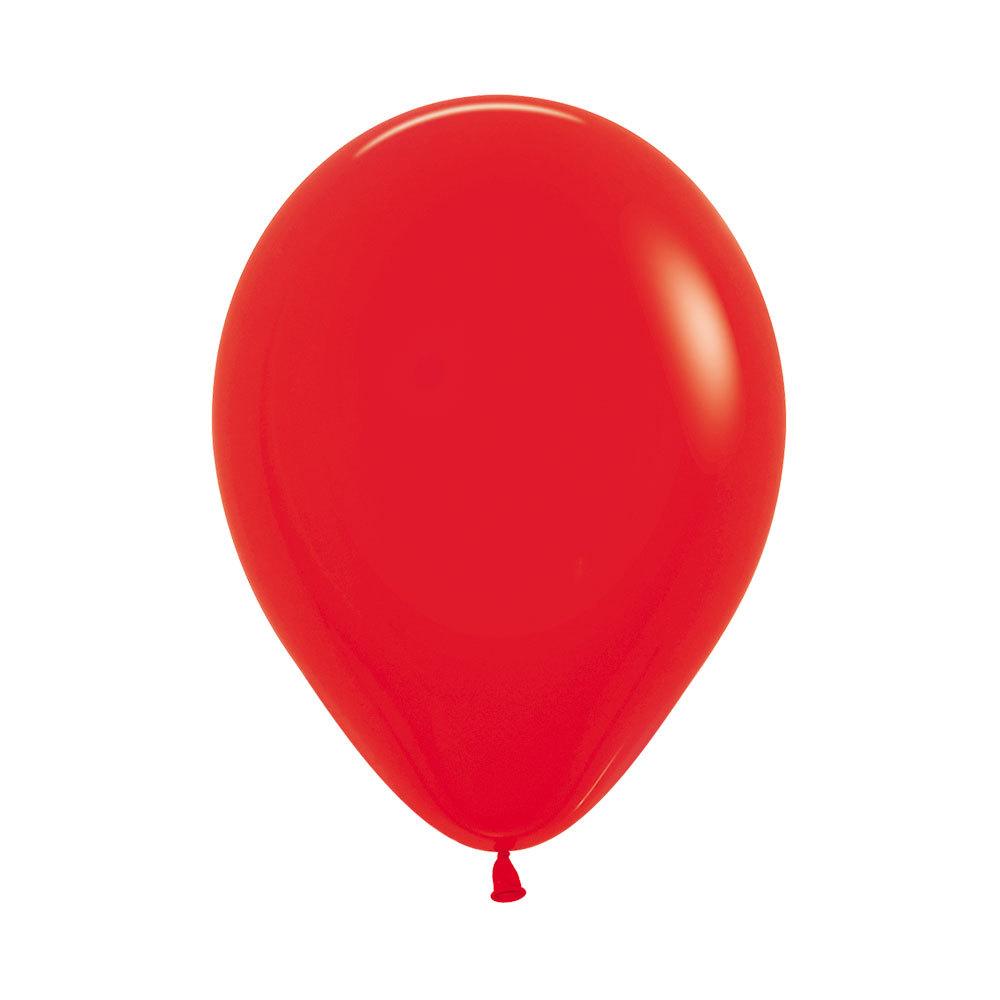 Латексный воздушный шар, цвет красный пастель