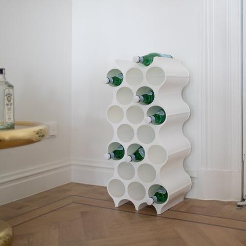 Подставка для бутылок SET-UP, белая