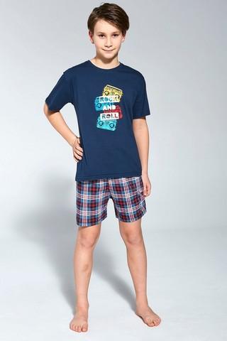 Пижама для мальчиков с шортами CORNETTE 789/790 ROCK