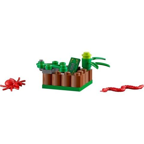 LEGO City: Набор «Новая лесная полиция» для начинающих 60066 — Swamp Police Starter — Лего Сити Город