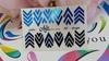 Фольга для дизайна ногтей цвет синий 39 купить за 120руб