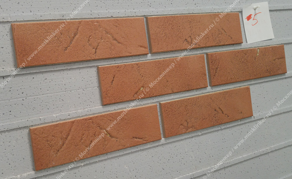 ABC - Antik, Kupfer, 240х71х8, NF - Клинкерная плитка для фасада и внутренней отделки