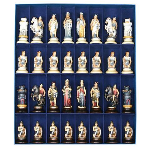 Этрусские шахматные фигуры