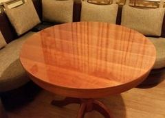 Скатерть круглая прозрачная 85 см толщина 1 мм