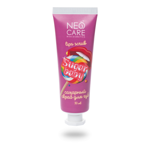 Скраб для губ Sugar baby | 30 мл | Neo Care